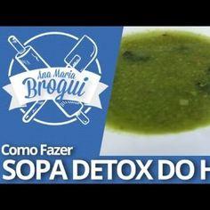 Como fazer Sopa Detox do Hulk