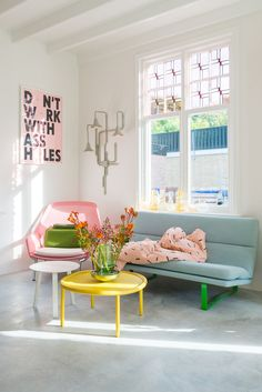Tour This Colorful + Cheerful Dutch Home Interior Pastel, Sweet Home, Pastel Room, Pastel Colors, Home Modern, Aesthetic Room Decor, Aesthetic Photo, New Room, House Colors