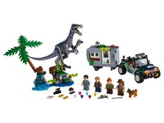 Baryonyx Face-Off: The Treasure Hunt 75935 | Jurassic World™ | Buy online at the Official LEGO® Shop CA Face Off, Lego Jurassic World, Lego Building Sets, Lego Sets, Legos, Boutique Lego, Jungle Scene, Largest Dinosaur, Jurassic World