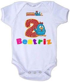 Body de bebê personalizado! Modelo Galinha pintadinha