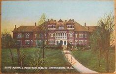 1905 Postcard: Normal School-Greensboro, North Carolina