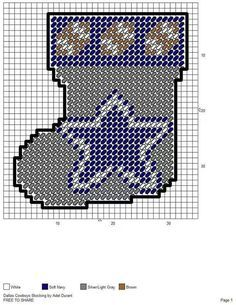 dallas cowboys in plastic canvas patterns at DuckDuckGo Plastic Canvas Coasters, Plastic Canvas Ornaments, Plastic Canvas Christmas, Plastic Canvas Crafts, Plastic Canvas Patterns, Cowboy Crafts, Peler Beads, Canvas Designs, Canvas Ideas