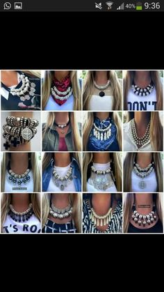#collar #tipos #grandes