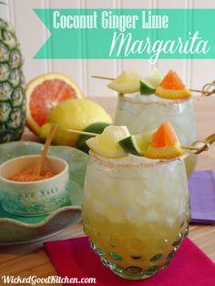 Coconut Ginger Lime Margarita