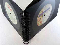 Gästebücher - Fotoalbum PRINCE Schallplatten upcycling Vinyl - ein Designerstück von Aurum bei DaWanda