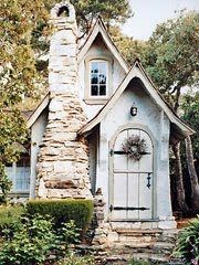 Cute fairytale cabin. Cheap to build,  now worth a bundle!