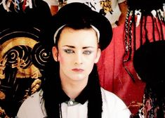 Welcome to boygeorgedaily, your source for all edits and photo sets of Boy George and Culture Club. Boy George, Culture Club, Georgia, Captain Hat, Singer, Boys, Chameleon, Beautiful, Guitar