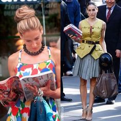Carrie Bradshaw Style @Erin B Ritchie