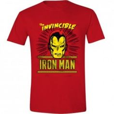 Iron Man - The Invinsible T-Shirt - Red