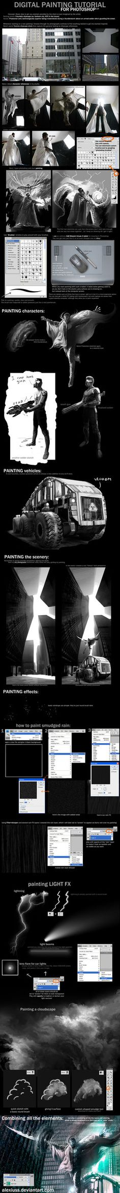 Photoshop: Painting Tutorial 2 by `alexiuss on deviantART
