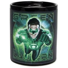 DC Comics Green Lantern Color Change Thermal Mug
