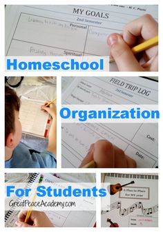 Teaching Personal Responsibility with a Student Planner
