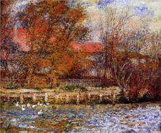 The Duck Pond - Pierre-Auguste Renoir