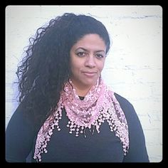 Rose Embroidery Lace Triangle Scarf (New) Rose Lace Triangle Pendant Soft Wrap Scarf,  I have several colors available when you buy this listing please indicate color. Colors;  pink, purple, black, grey, lime green, blue, and coffee. Accessories Scarves & Wraps
