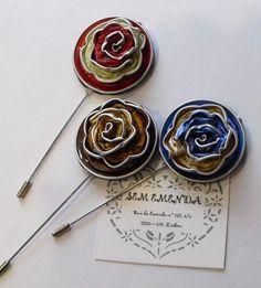 #gifts #christmas #noel #diy  #nespresso #crafts  Reciclando cápsulas: alfileres…