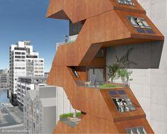 Z-loft. two-level space apartments. Dublin, Ireland