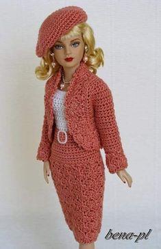 """Résultat de recherche d'images pour """"barbie kleid stricken"""""""