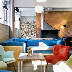 Entrepreneurs Cymon Eckel and Lalit Maria identified a need for flexible working options in the capital, and Forge & Co is their solution. Spread over four floors of a 1950s modernist building, it's the perfect fit for those wanting somewhere to work in the short or longer term...