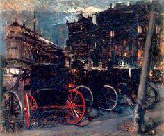 Parigi di notte di Giovanni Boldini
