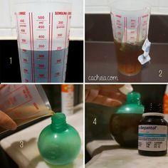 Como fazer chás para borrifadores
