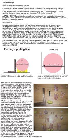 Woodland Earth Studio OOAK Forum • View topic - Making Molds for Porcelain Slip Casting