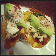 Fried white fish tacos with avocado and mango salsa #farmfishbakedc (Photo Credit @deanna_kay_)