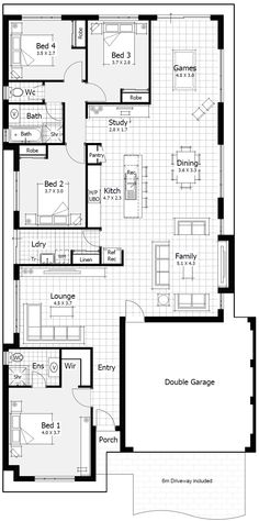 12 To 14 Metre Wide Home Designs