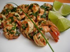 Chili's Bar and Grill : Garlic Lime Shrimp