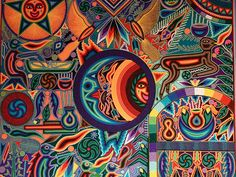 Huichol Art, Latin Folk Art