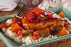 """Sweet and Sour Pork Chops 