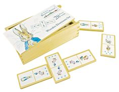#Beatrix Potter #Peter# Rabbit #Dominoes available online at http://www.babycity.co.uk/