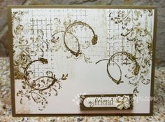 SU! Timeless Textures stamp set - France Martin