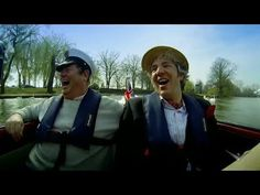 After a major retool, the boys christen their Amphicar and launch it into the Thames. It's all smiles for most of the trip but the test proves the car needs . Wheeler Dealers, All Smiles, Edd, Dream Cars, Motorcycles, Youtube, Style, Cars, Swag