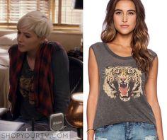 Pretty Little Liars: Season 6 Episode 6 Sara's Tiger Print Tee