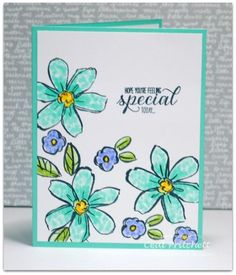 DTGD15Benzi ~ You're Special by simplybeautiful - Cards and Paper Crafts at Splitcoaststampers