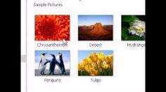 cum pot vedea pozele din calculator - YouTube