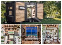 New Frontier Tiny Home Cottages And Bungalows, Tiny Cabins, Tiny House Living, All About Time, Repurposed, Architecture Design, Shed, House Styles, Outdoor Decor
