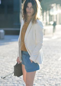 white blazers. one day I will be thin enough to wear this!~