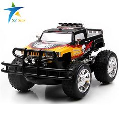 59.90$  Buy here - http://ali0g1.worldwells.pw/go.php?t=32462468058 - china remote control dune buggy huanqi rc cars electric-car-baby Amphibious Four-wheel drive hummers car with Brake lights Music
