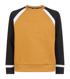 3e1359143c6 FENDI EMBROIDERED LOGO SWEATER. #fendi #cloth