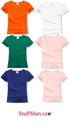 40443c56af5eb 2017 Summer High Quality 15 Color S-2XL Plain T Shirt Women Cotton Ela –
