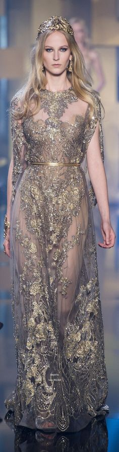 50 gorgeous elie saab wedding dresses, copy the ideas 5 - Beauty of Wedding Style Couture, Couture Fashion, Runway Fashion, Pure Couture, Bridal Fashion, Party Fashion, Elie Saab Couture, Elie Saab Bridal, Elie Saab Fall