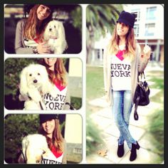 Buy this tee at https://www.facebook.com/MyWorldOfRags or send an email to myworldofrags.shop@gmail.com  xoxo  #JuicyCouture #city #weekend #love hats #NYC #Chanel #Dogs