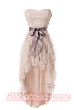 Peal Pink Short Front Long Back Homecoming Dresses,Prom Dresses http://21weddingdresses.storenvy.com/products/15790971-peal-pink-short-front-long-back-homecoming-dresses-prom-dresses