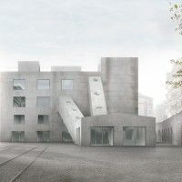 Caruso St John Mudac Museum Competition Lausanne