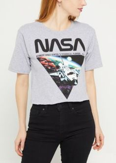 9abaaf07 7 Best Women's NASA Logo Apparel images | Clothing logo, T shirts ...