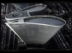 ADIA Headquarters in Abu Dhabi, a modern architectural masterpiece designed by Kohn Pedersen Fox Associates (KPF)