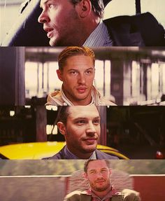 Tom Hardy as Eames in Inception [2010]
