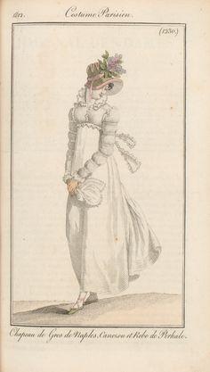 Journal des dames et des modes / Costume Parisien: 25 Mai, 1812 (a)