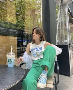Cute Casual Outfits, Pretty Outfits, Summer Outfits, Mode Outfits, Fashion Outfits, Estilo Indie, Vogue, Mode Inspiration, Aesthetic Clothes